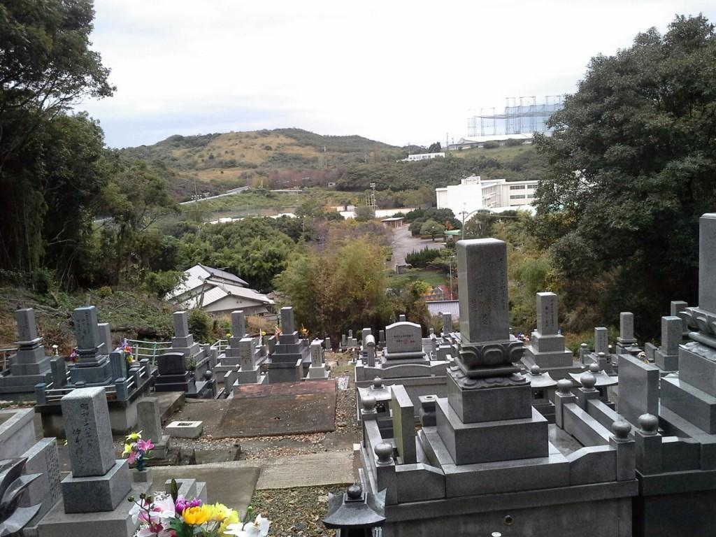 Uitzicht vanaf Kruis Monument Mizumaki