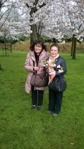 Nami en Hideko Cherry Blossom 2015
